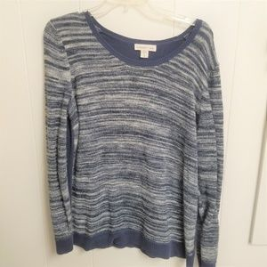 Coldwater Creek Pull Over Navy Sweater XL 16